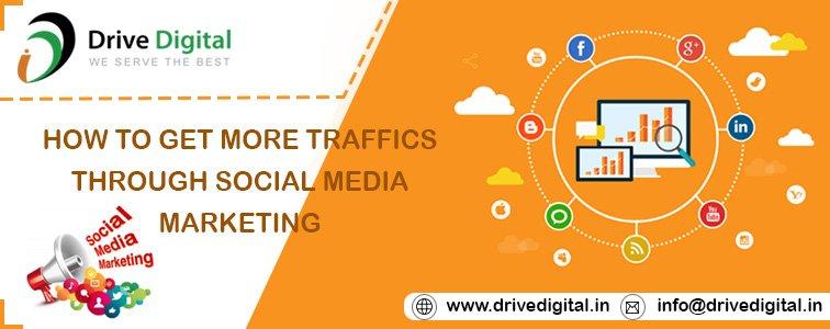 how to get more traffics through social marketing