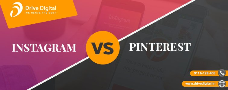 instagram v/s pintrest