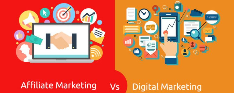 affiliate marketing v/s digital marketing