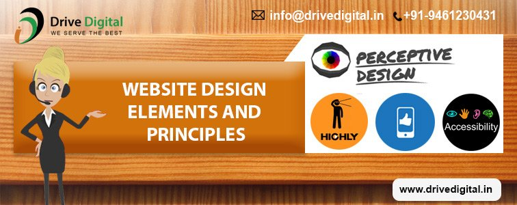 website designing element and principle