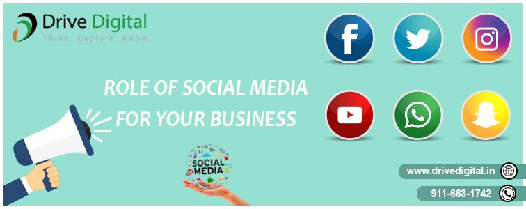 role of social media for your business