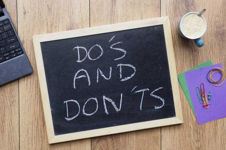 do's and don'ts of content marketing