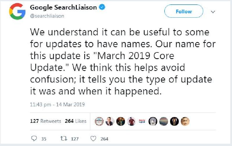 google core update march