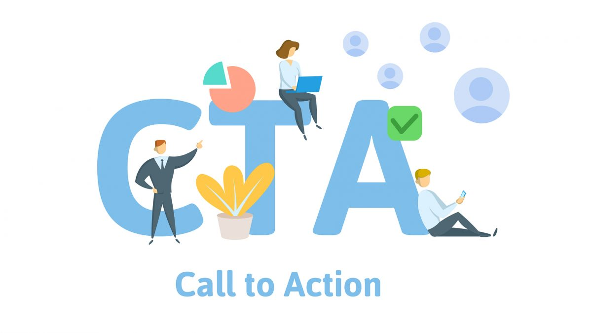 attractive call to action