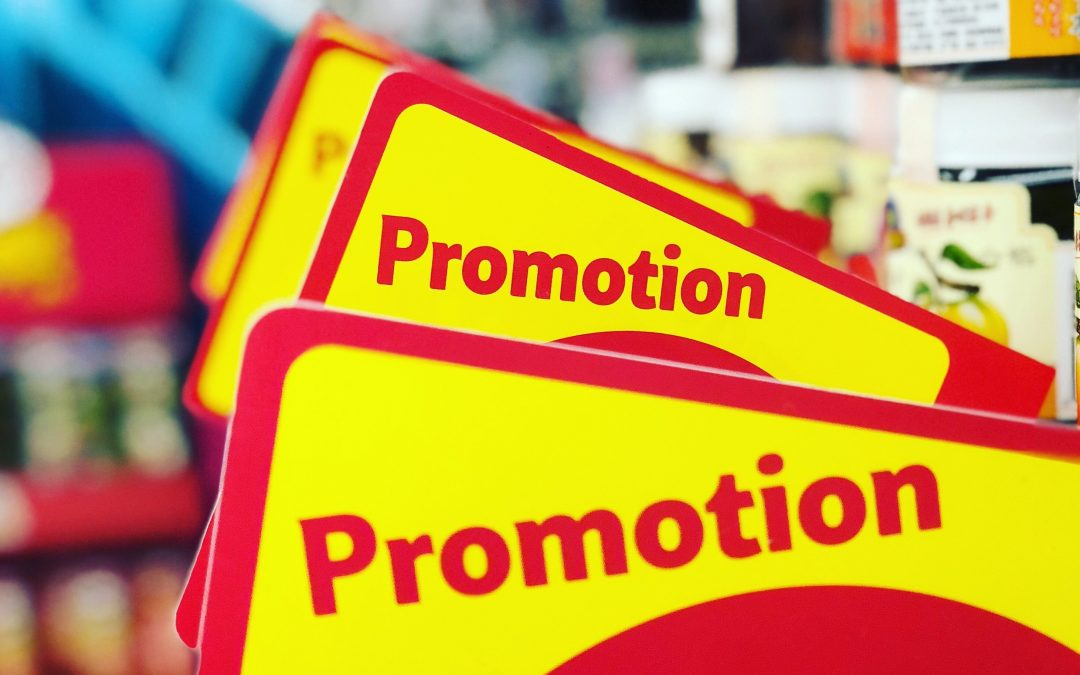Charge up promotions at the time of vacation or occasion