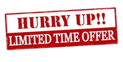 Use Limited Time Sale Scheme