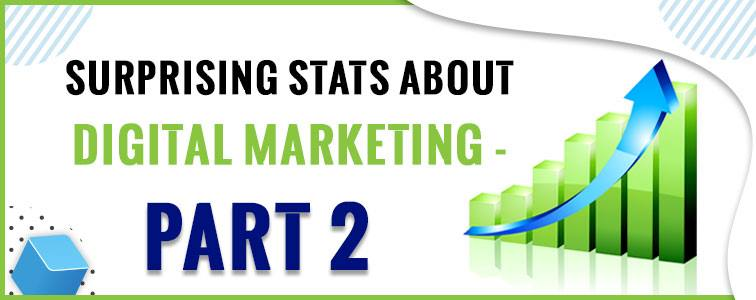 Surprising Stats About Digital Marketing - Part 2
