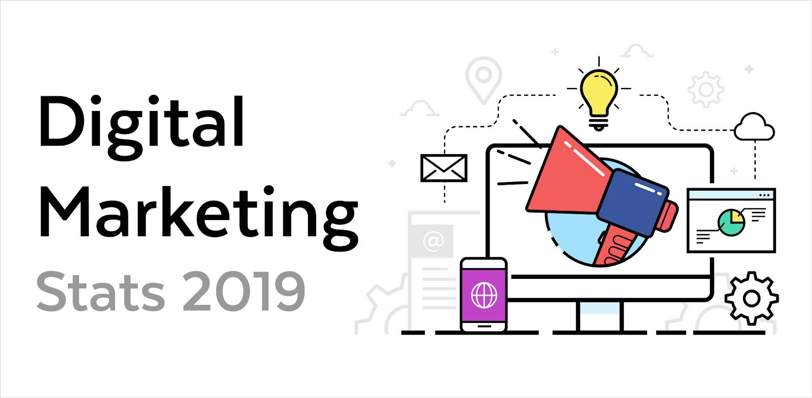 Digital Marketing Stats 2019
