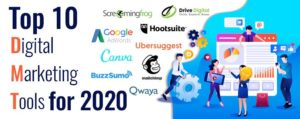 top 10 digital marketing tools for 2020