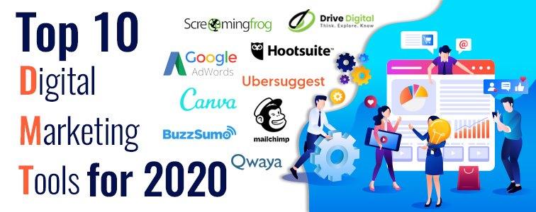 top 10 digital marketing tools for 2020